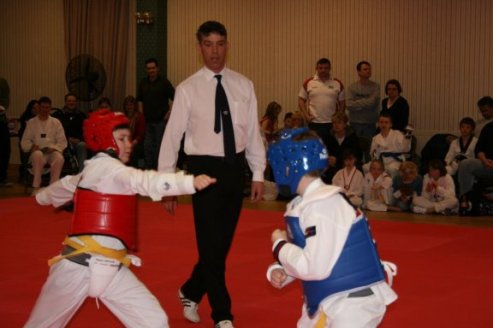 junior competion fight