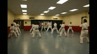 Leatherhead practice punching