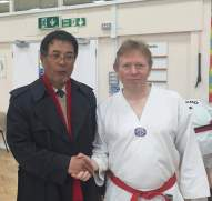 Master Yoon with Tim
