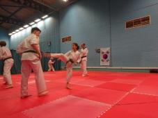 Kicks on mats