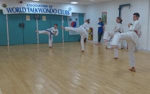Sidekicks practice